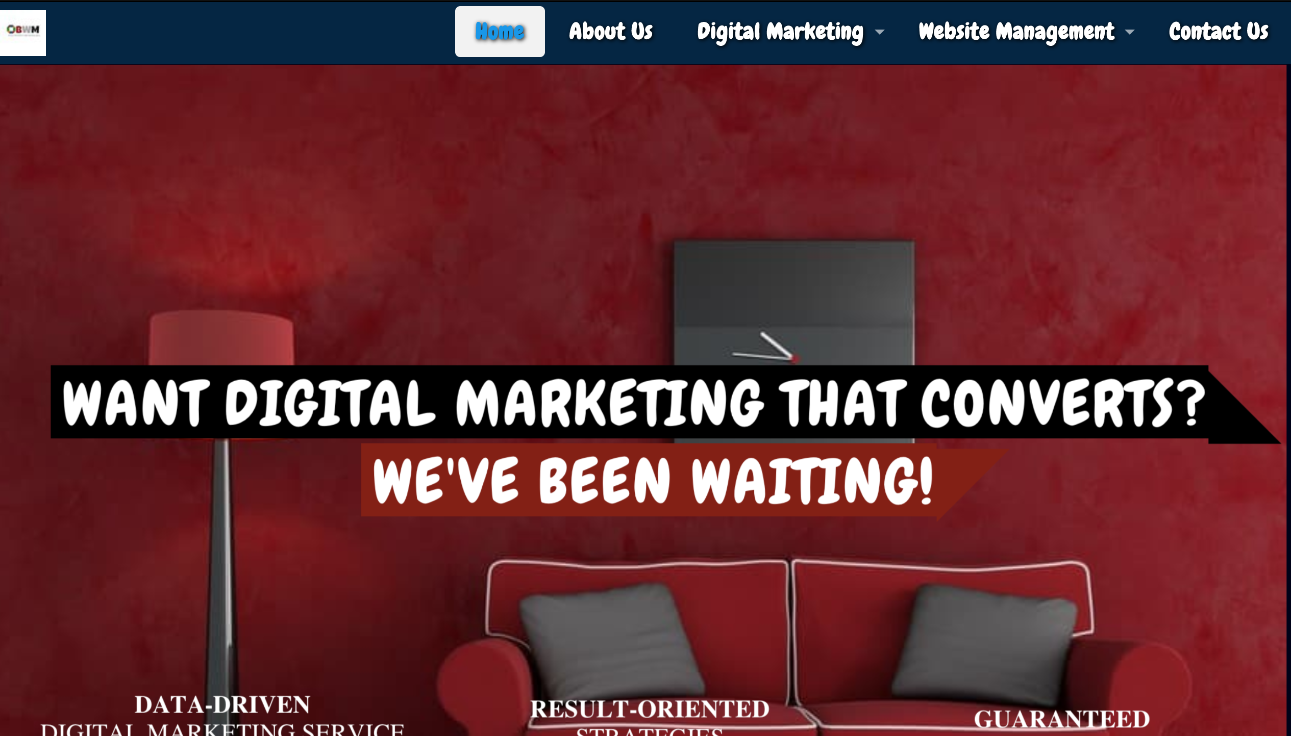 Business With Measure Homepage
